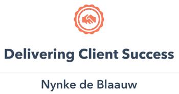 Delivering Client Success badge