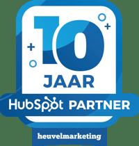 10 jaar HubSpot partner